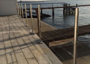metal balustrade